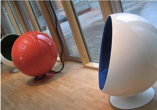 mesa gota de agua silla bola