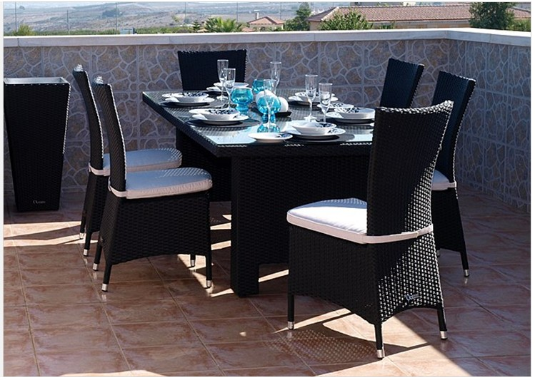 Rattan Dining Set FCO-2077