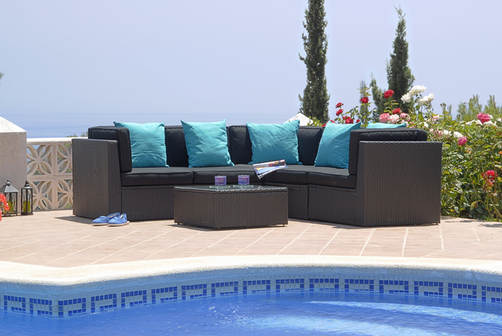wicker Sofa FCO-2045
