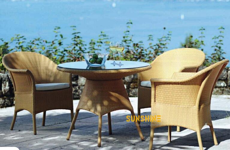 Rattan Bistro Set Fco 2465 Outdoor