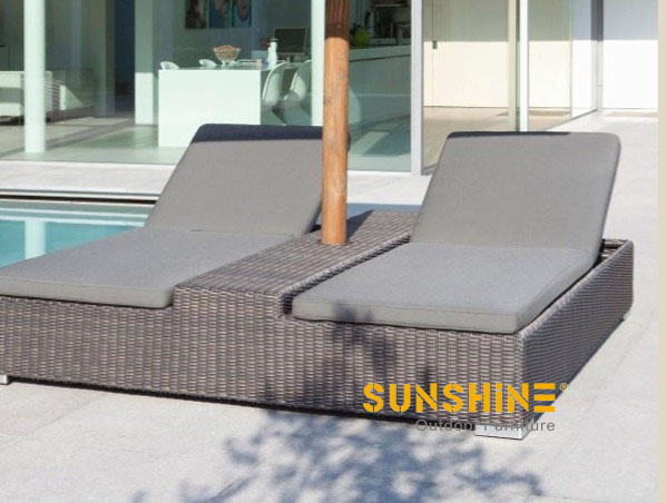 Double Sun lounger FCO-2106