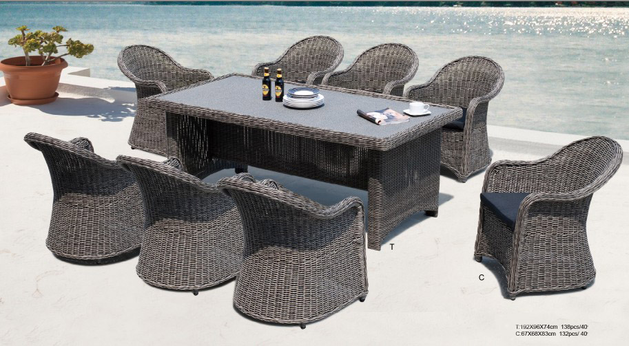 Wicker Dinning Set FCO-2093